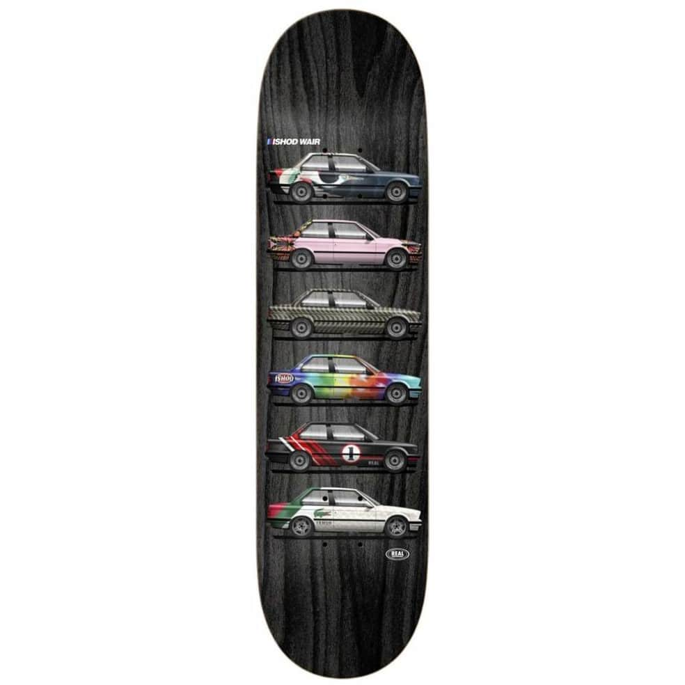 """Real Ishod Customs Twin Tail Skateboard Deck - 8"""" 