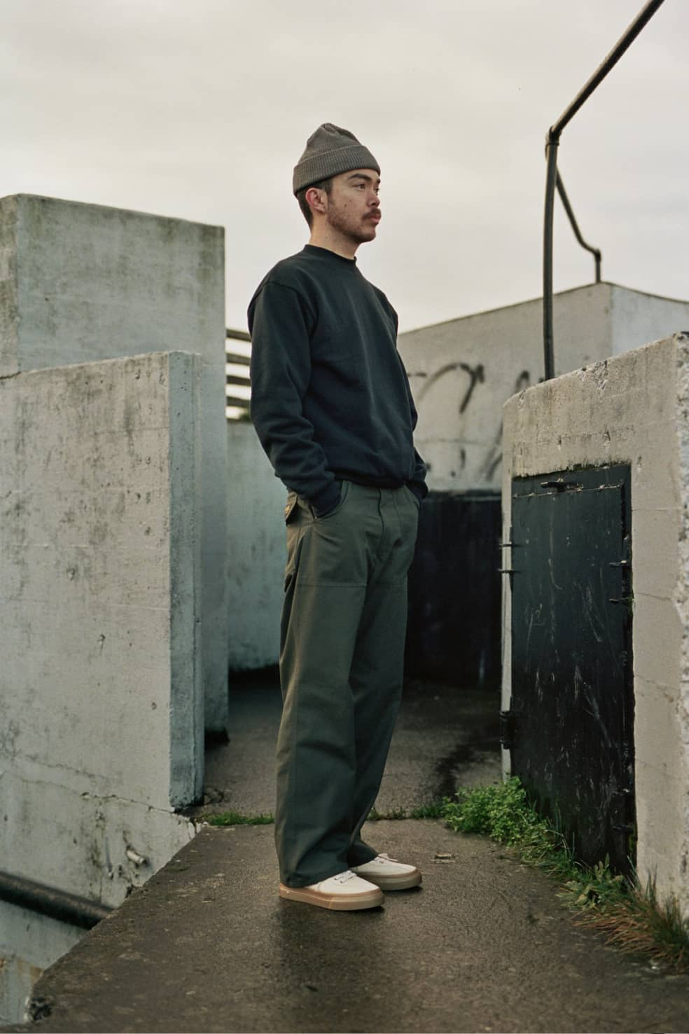 Original Loose Fatigue Pant Loden Ripstop   Trousers by Stan Ray 1