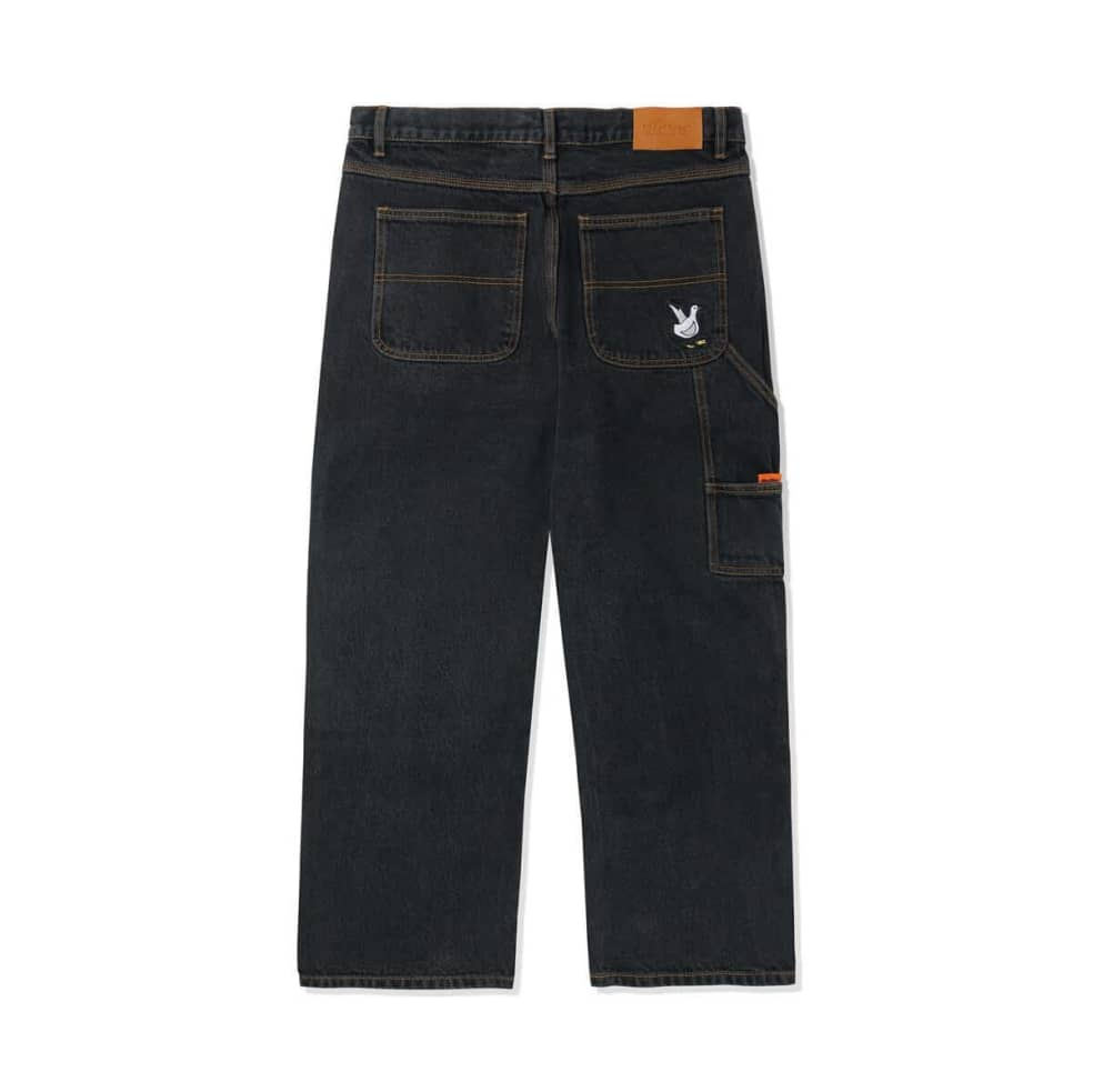 Butter Goods Gullwing Denim Pant - Washed Black | Jeans by Butter Goods 2
