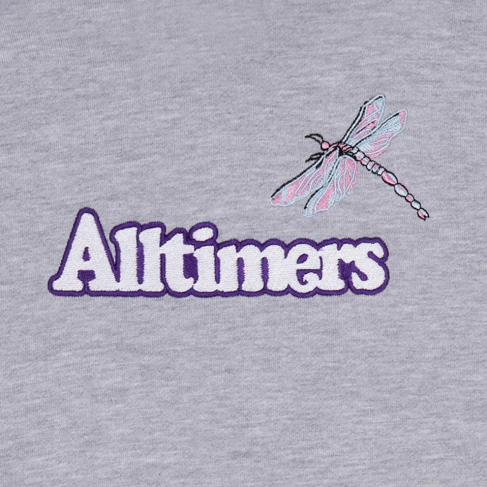 Alltimers Bugged Out Broadway Hoodie - Heather Grey | Hoodie by Alltimers 2