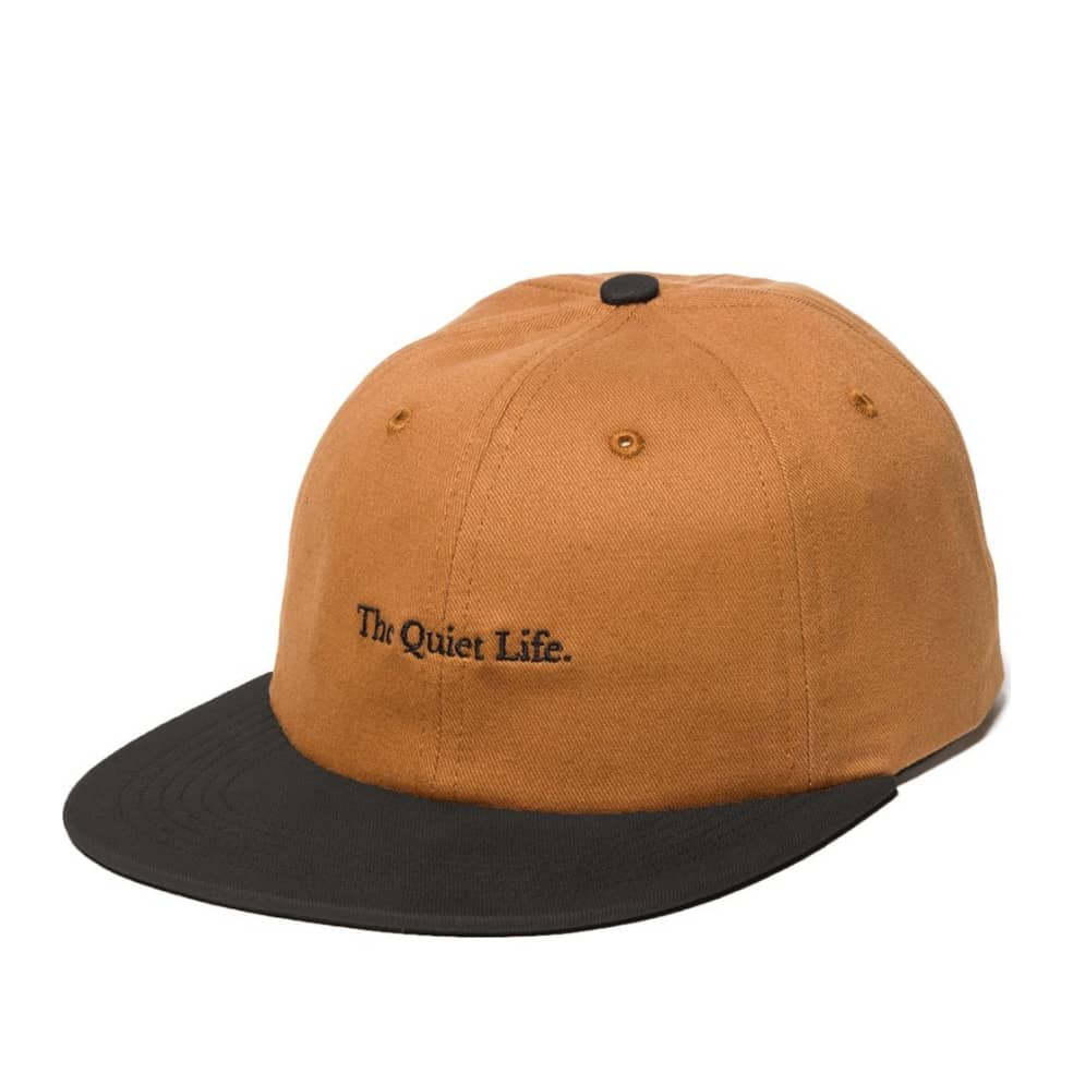 The Quiet Life Serif Polo Hat - Caramel | Baseball Cap by The Quiet Life 1