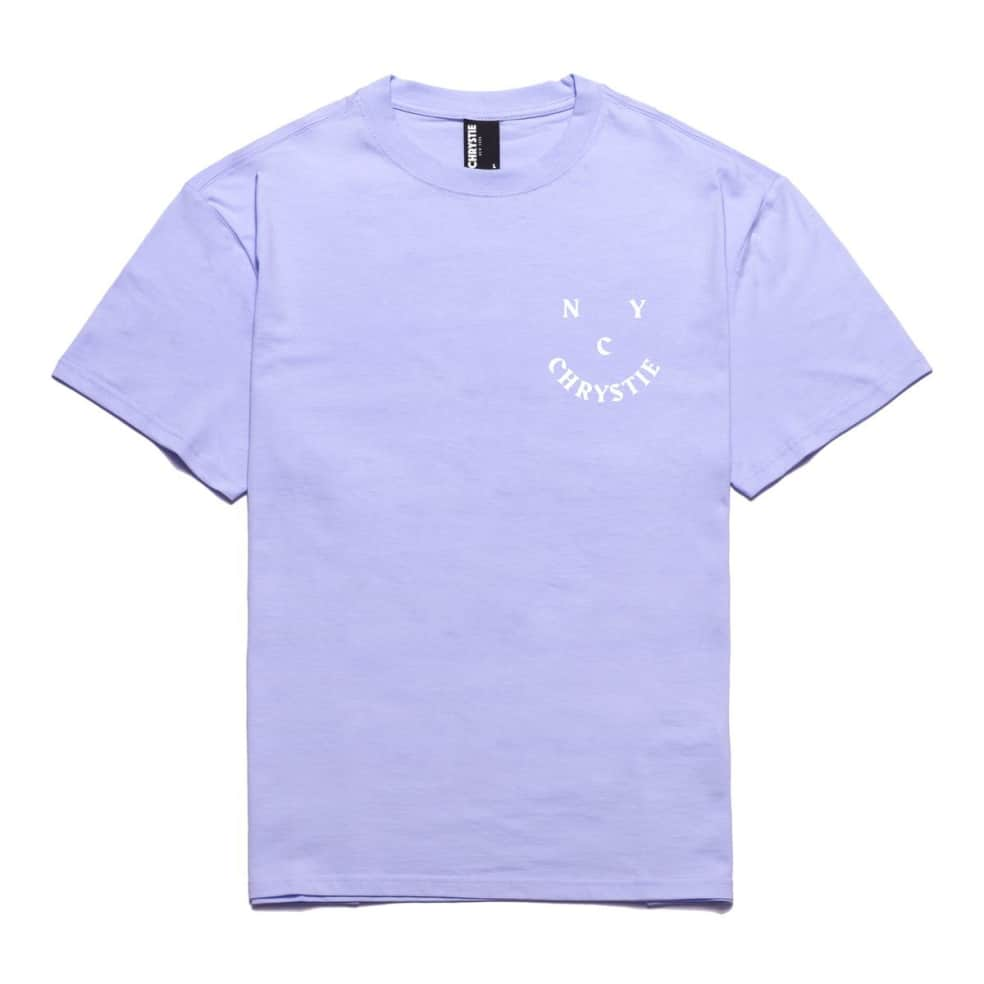 Chrystie NYC Smile Logo T-Shirt - Lavender | T-Shirt by Chrystie NYC 2