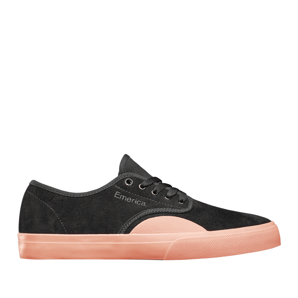 Emerica Wino Standard Skate Shoes - Black / Pink | Shoes by Emerica 1