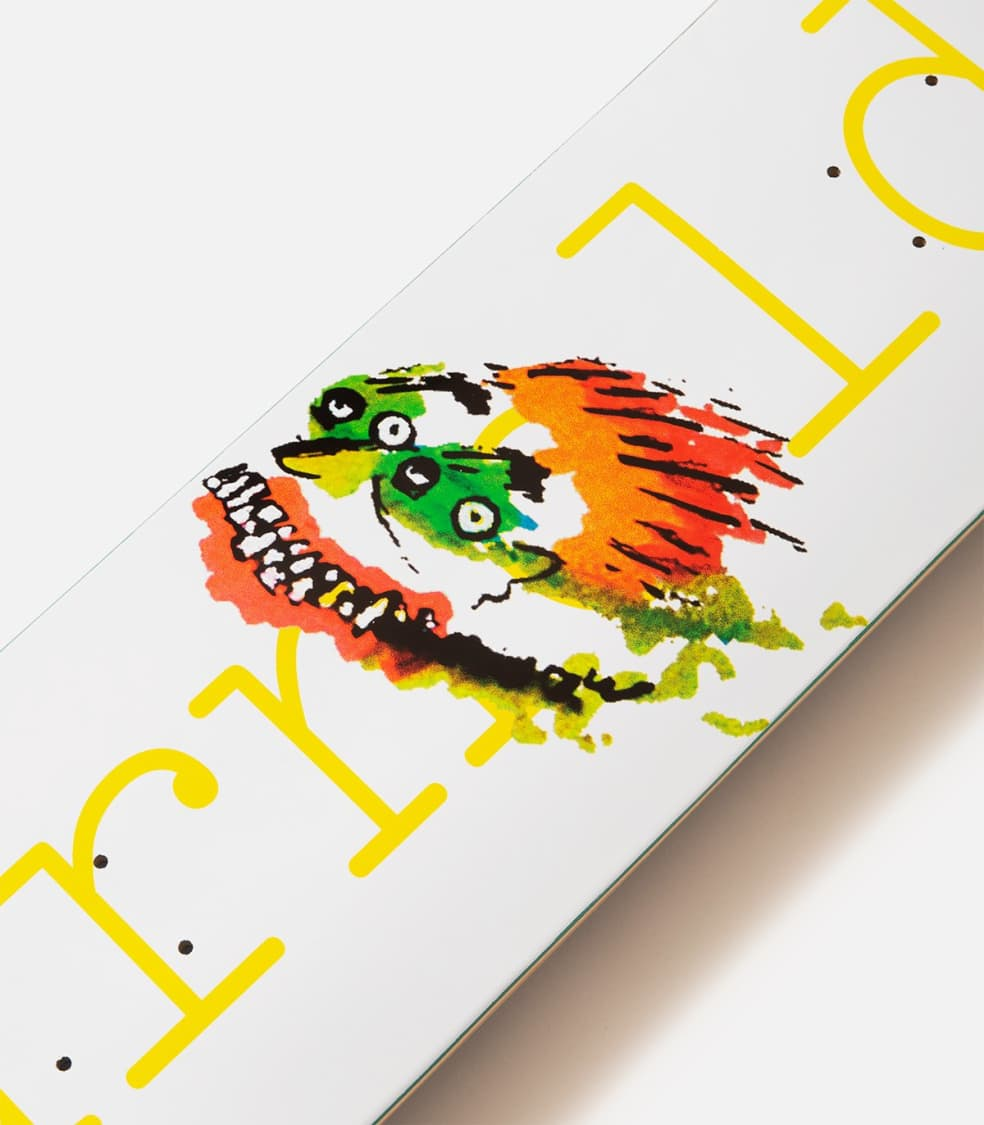 Isle Mike Arnold Face Drawing Deck | Deck by Isle Skateboards 2
