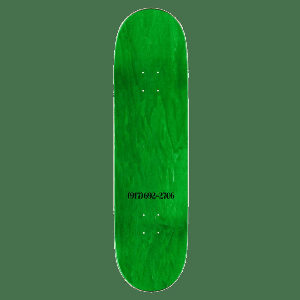 "Call Me 917 Dialtone Slick Skateboard Deck Black - 8.5""   Deck by Call Me 917 2"