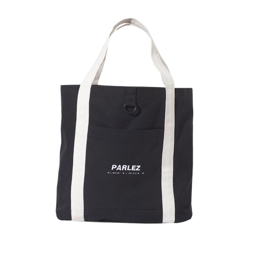 Parlez Cutter Tote Bag - Black | Tote Bag by Parlez Clothing 1