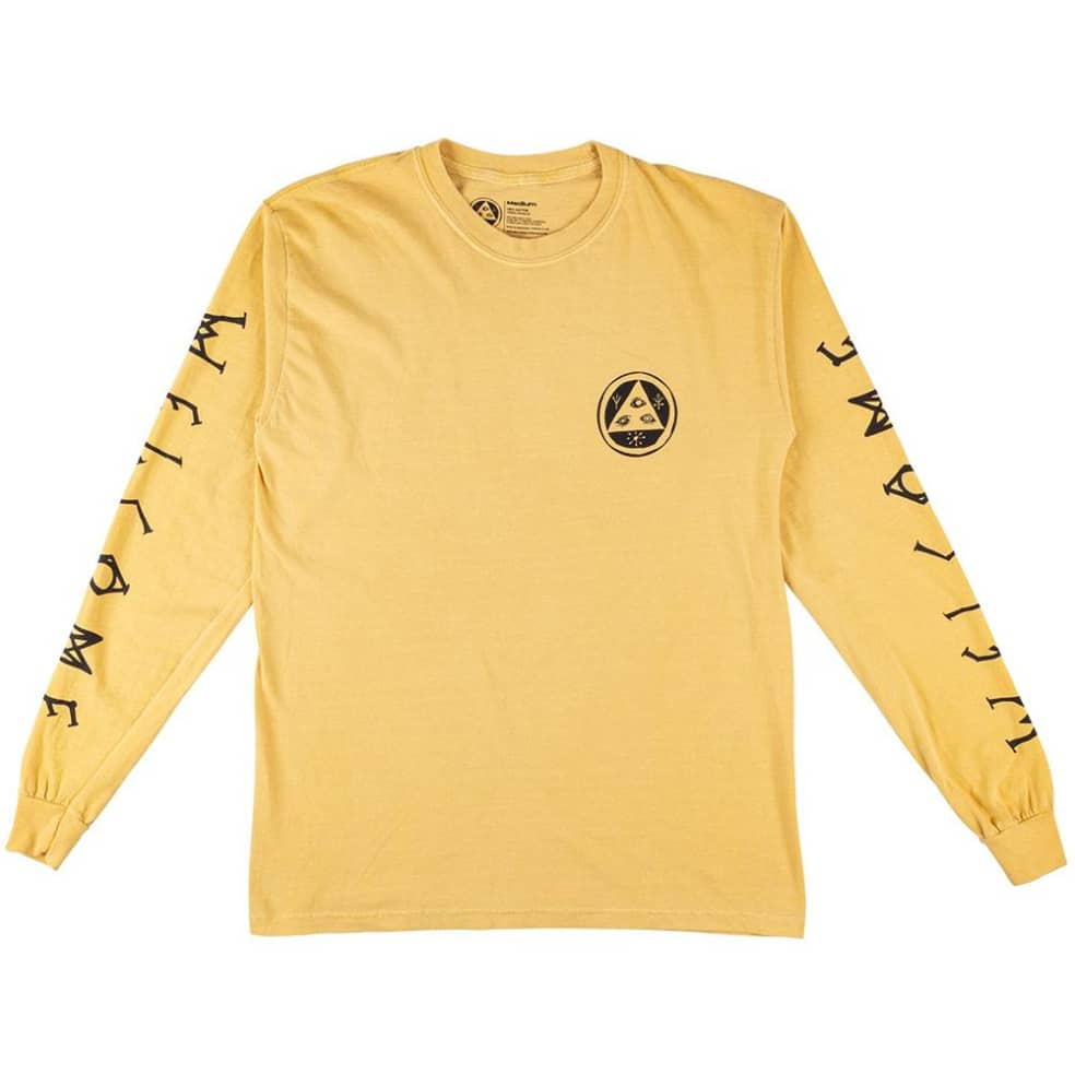 Welcome Tali-Scawl Garment Dyed Long Sleeve T-Shirt   Longsleeve by Welcome Skateboards 2