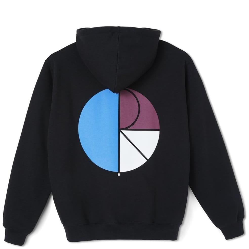 Polar Skate Co 3 Tone Fill Logo Hoodie - Black | Hoodie by Polar Skate Co 1