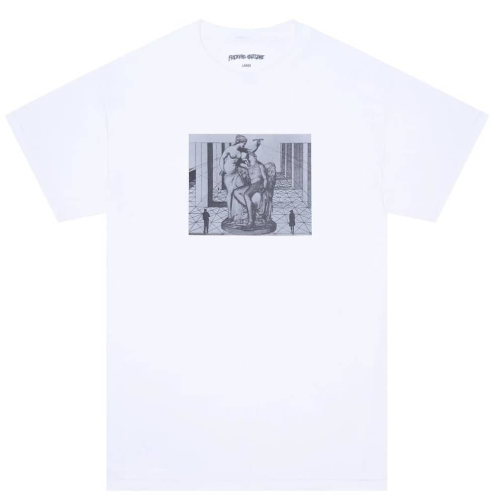 Fucking Awesome Perspective Statue T-Shirt - White | T-Shirt by Fucking Awesome 1
