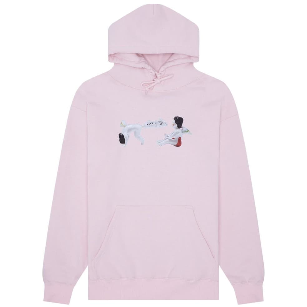 Fucking Awesome Cherub Fart Hoodie - Light Pink | Hoodie by Fucking Awesome 1