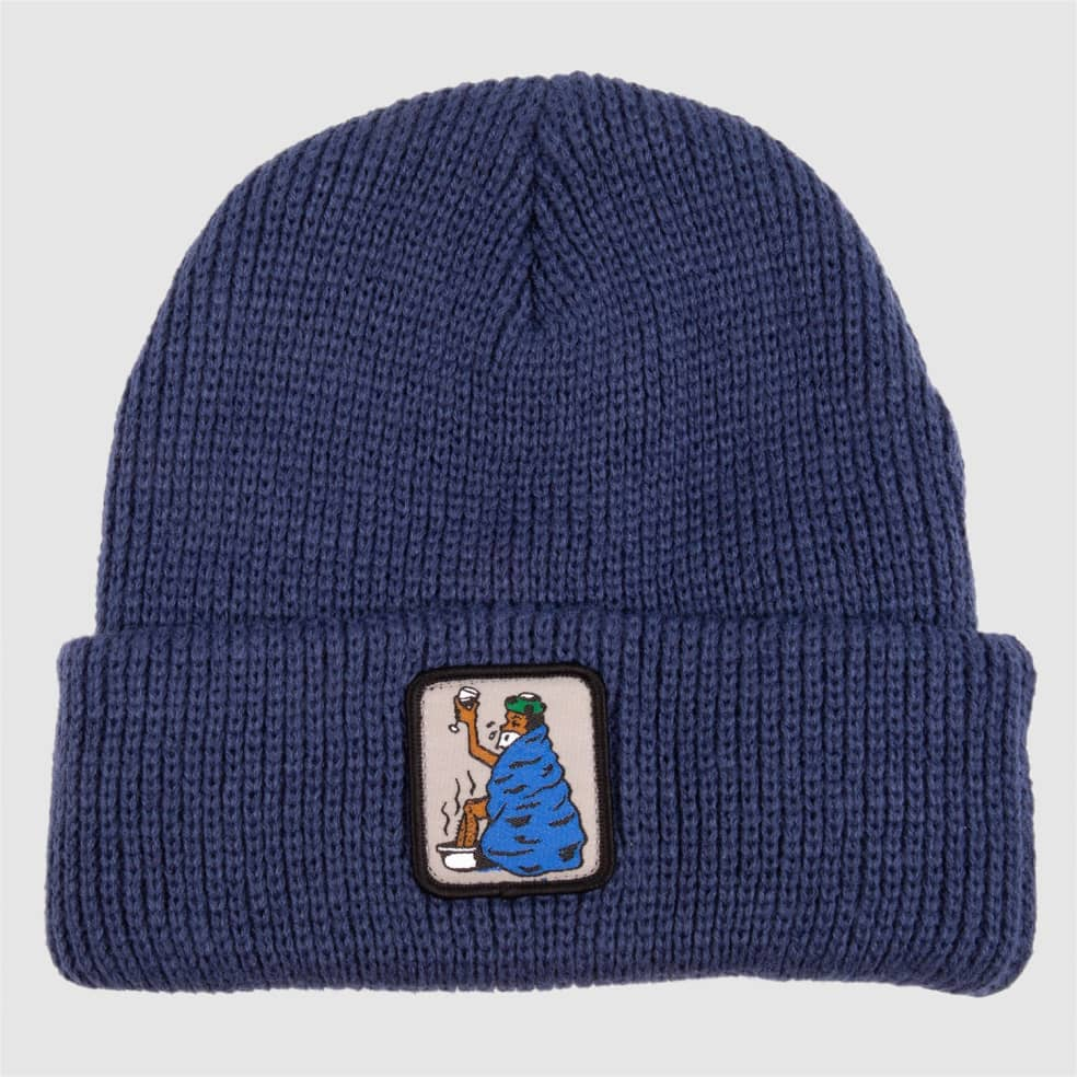 Pass~Port Cold Out Beanie - Navy | Beanie by Pass~Port Skateboards 1