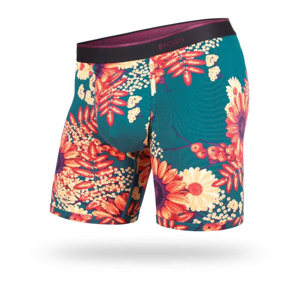 BN3TH CLASSIC BOXER BRIEF - WILDFLOWERS INK | Underwear by BN3TH 1