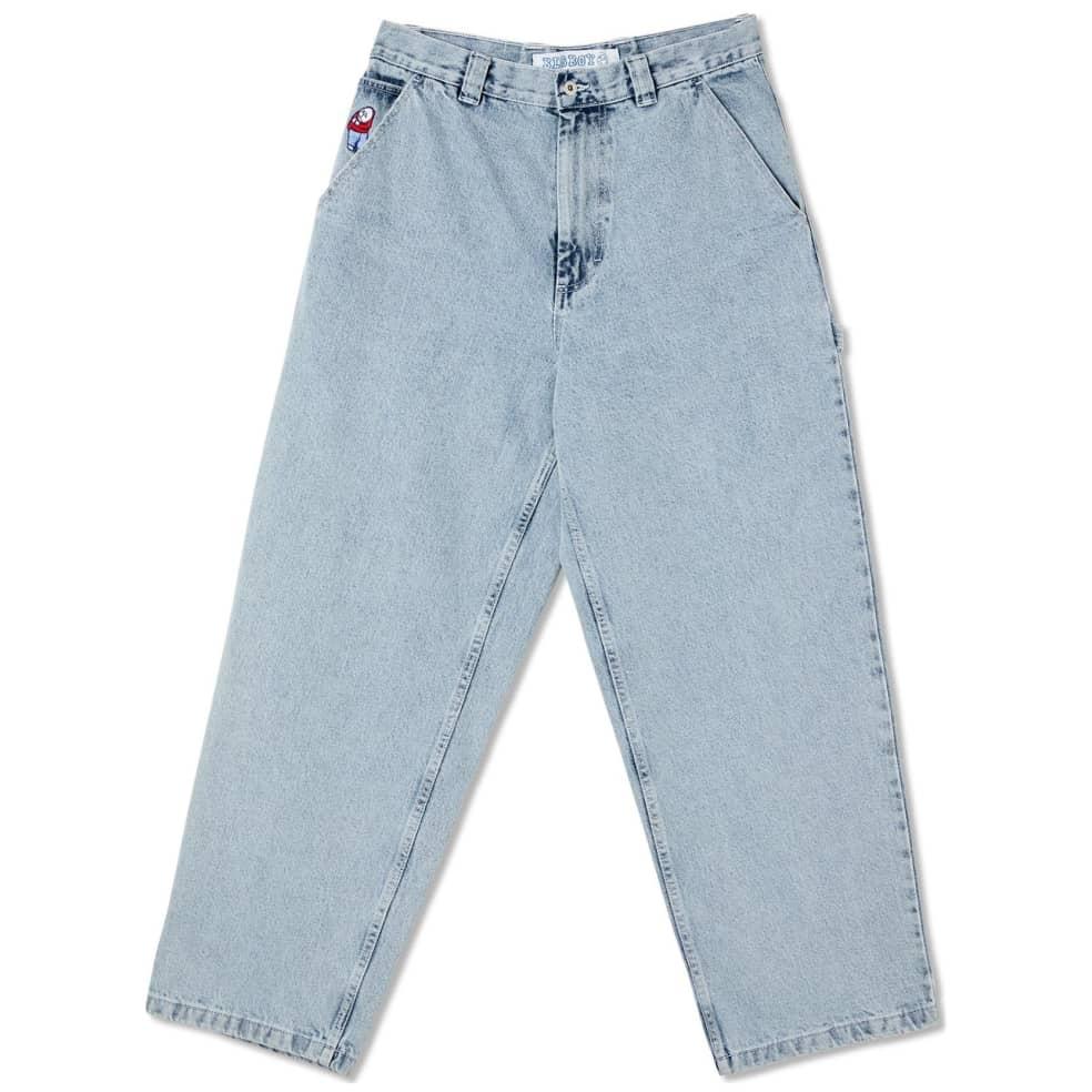 Polar Skate Co Big Boy Work Pants - Light Blue | Jeans by Polar Skate Co 1