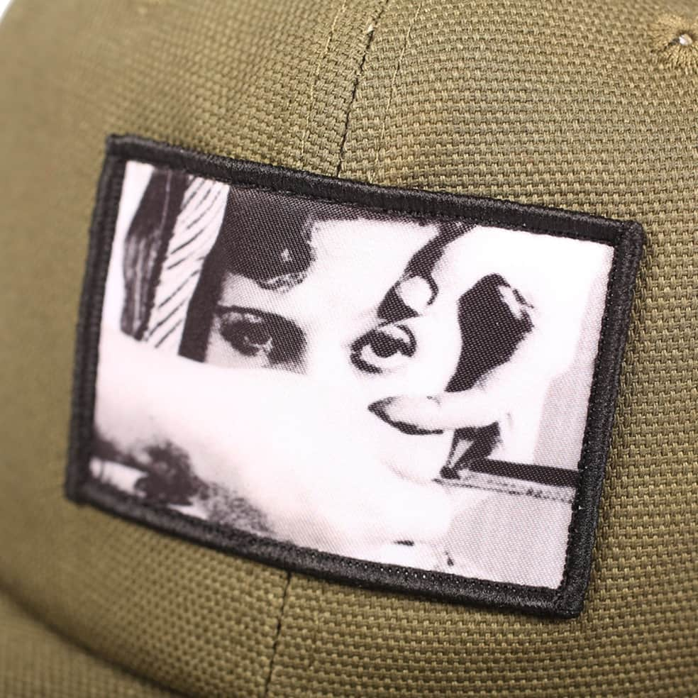 Picture Show Andalou Snapback Hat Olive | Hat by Picture Show Studios 3