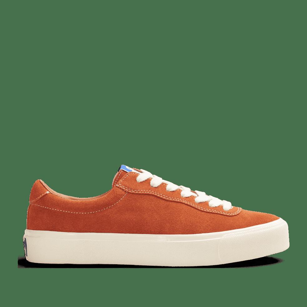 Last Resort AB VM001 Suede Lo Skate Shoes - Burnt Orange / White | Shoes by Last Resort AB 1