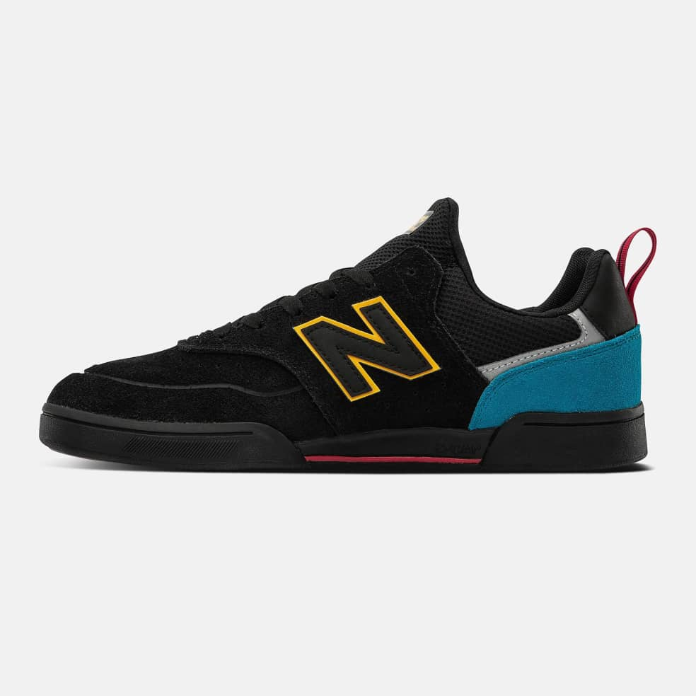 New Balance Numeric 288 Sport Shoes - Black / Yellow | Shoes by New Balance 3