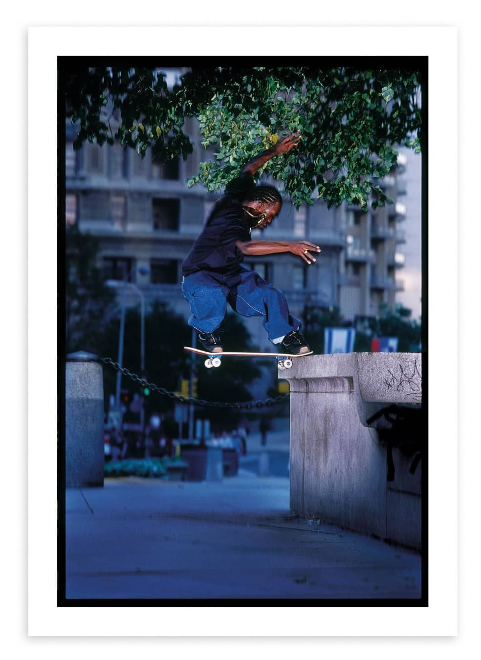 Stevie Williams, Love Park. 2000. | Photograph by Mike Blabac 1