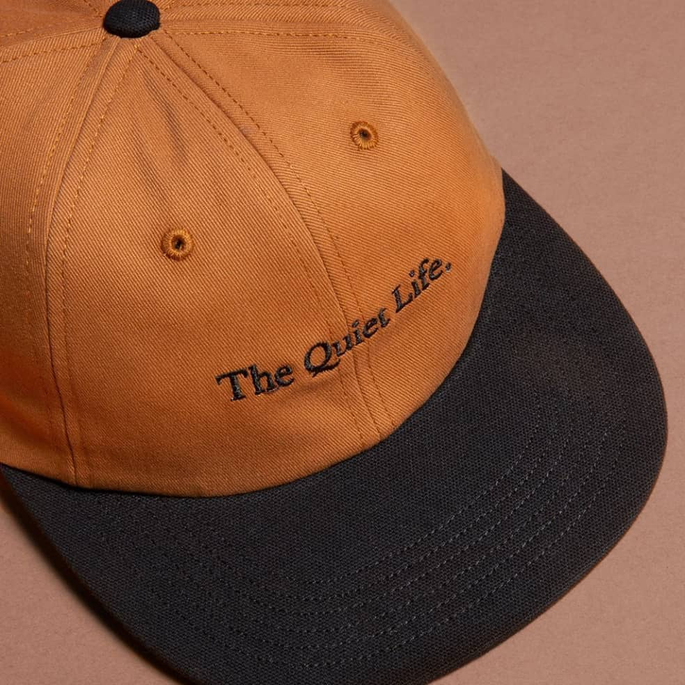 The Quiet Life Serif Polo Hat - Caramel | Baseball Cap by The Quiet Life 2