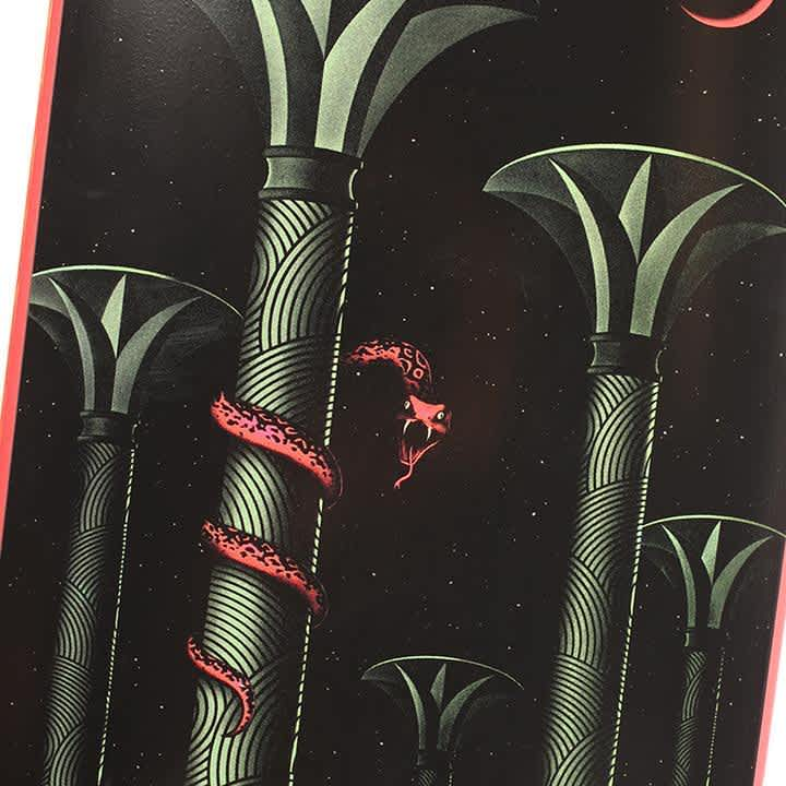 Picture Show Nawrocki Serpent Skateboard Deck | Deck by Picture Show Studios 1