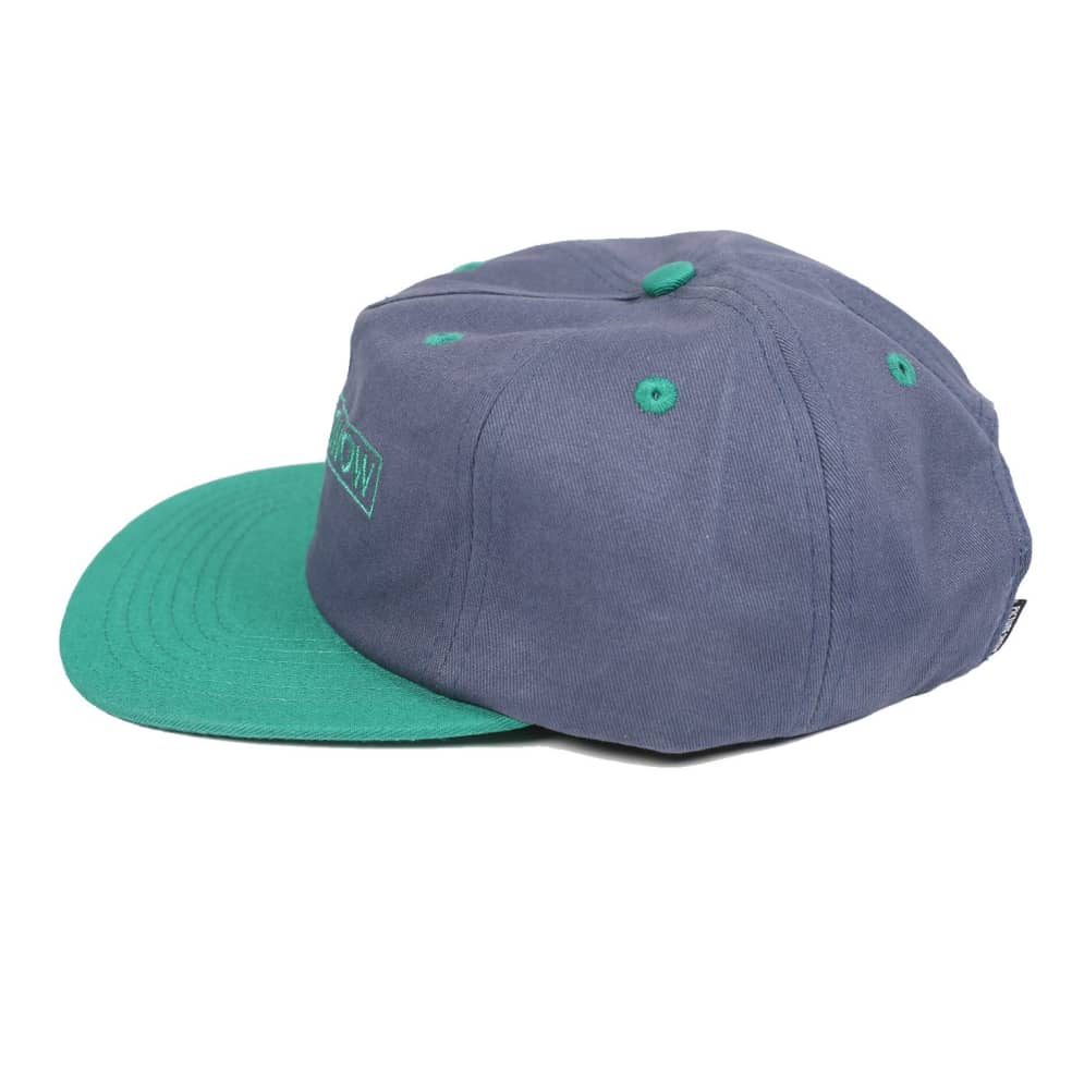 Picture Show VHS Strapback Hat Slate/Jade | Baseball Cap by Picture Show Studios 3