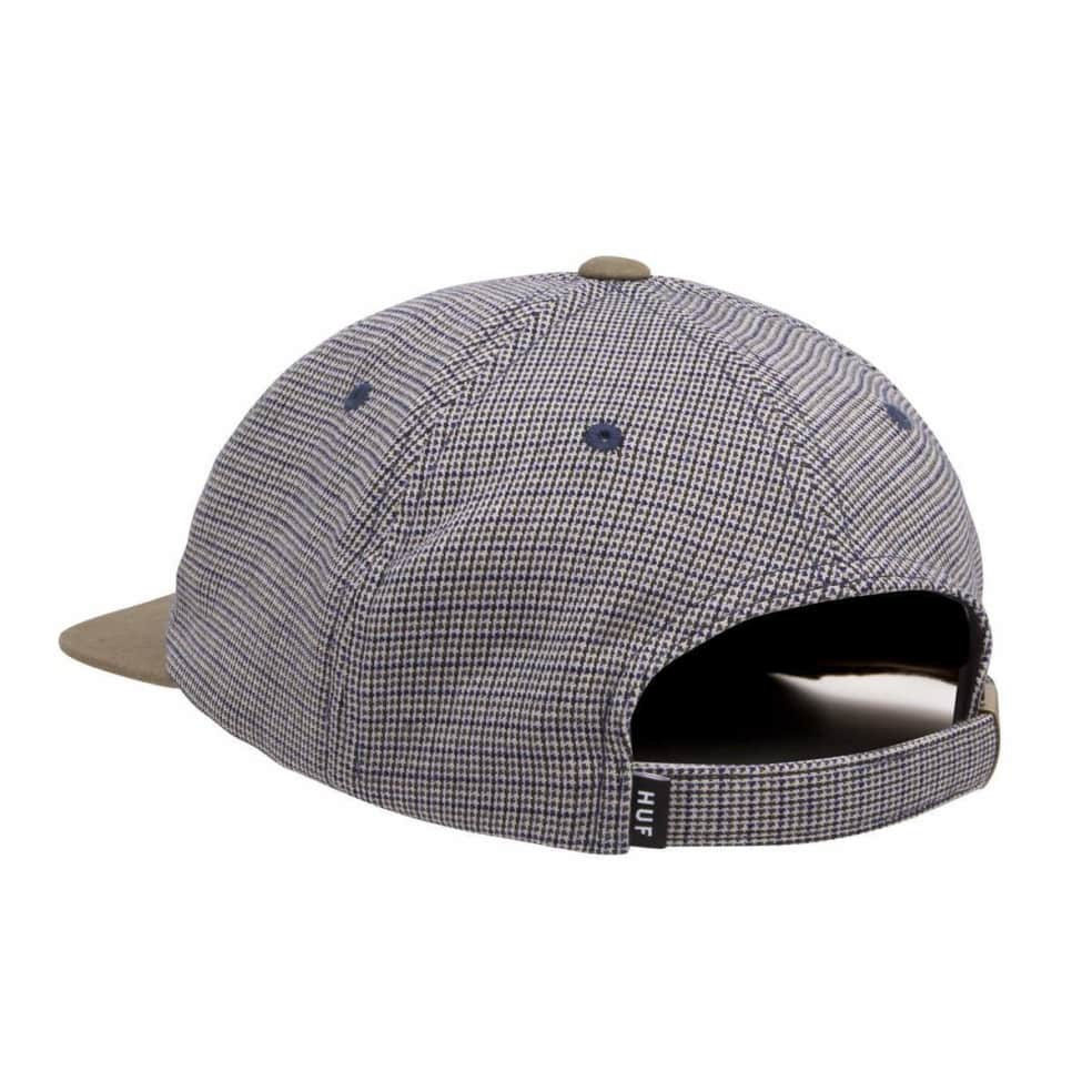 HUF Micro Houndstooth 6 Panel Hat - Green   Baseball Cap by HUF 2