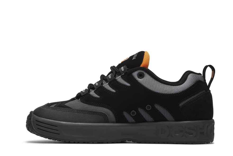 DC Lukoda Skate Shoes - Black / Orange | Shoes by DC Shoes 2