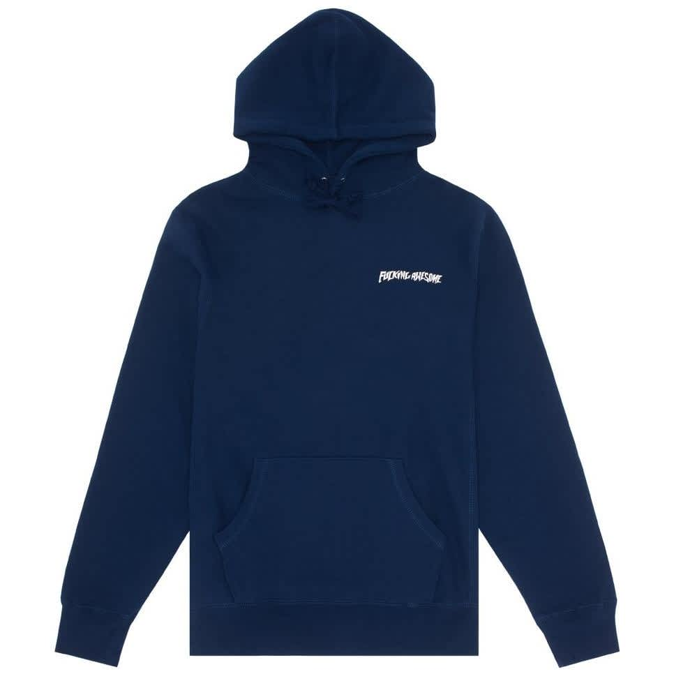 Fucking Awesome Grim Reaper Hoodie - Navy   Hoodie by Fucking Awesome 1