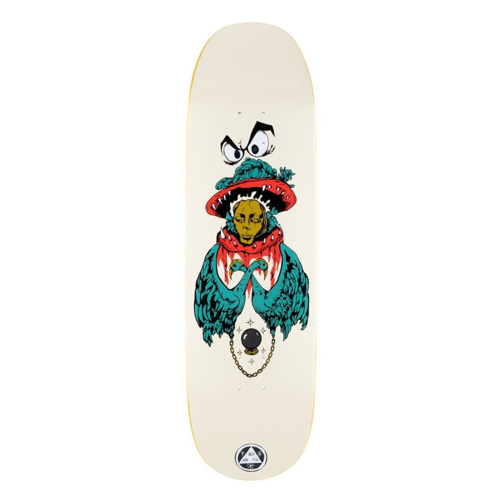 """Welcome Victim of Time on Baculus 2 Deck 9.0"""" (Bone)   Deck by Welcome Skateboards 1"""