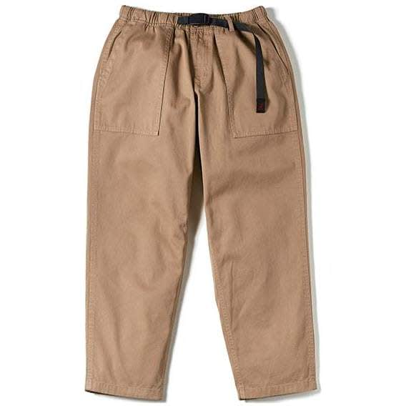 Gramicci Ripstop Loose Tapered Pants - Beige   Trousers by Gramicci 1
