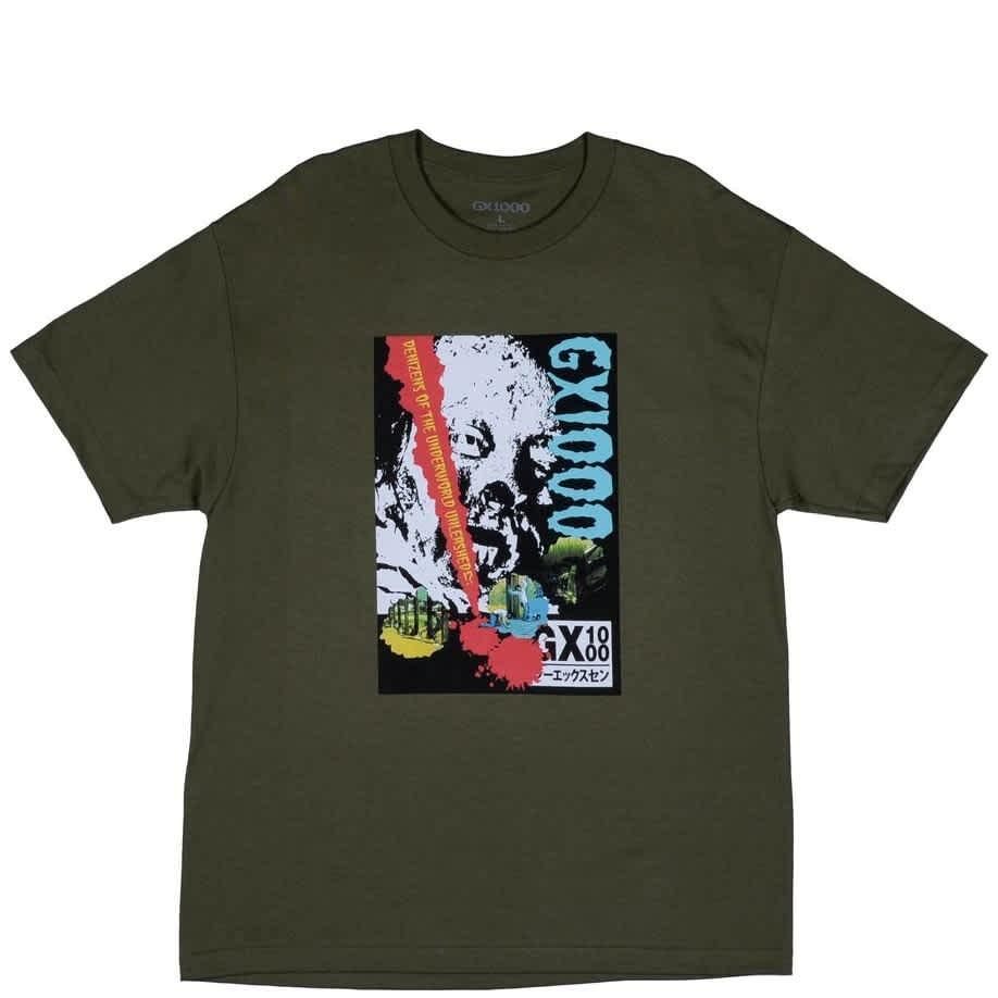 GX1000 Denizens T-Shirt - Military Green | T-Shirt by GX1000 1
