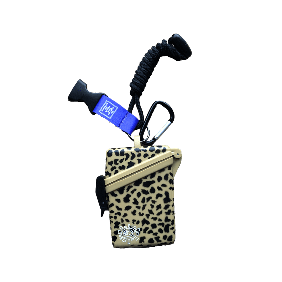 always do what you should do - leopard lanyard case | Giftables by always do what you should do 1