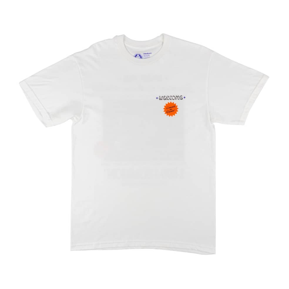 Welcome Hotline 2 Premium Tee   T-Shirt by Welcome Skateboards 2