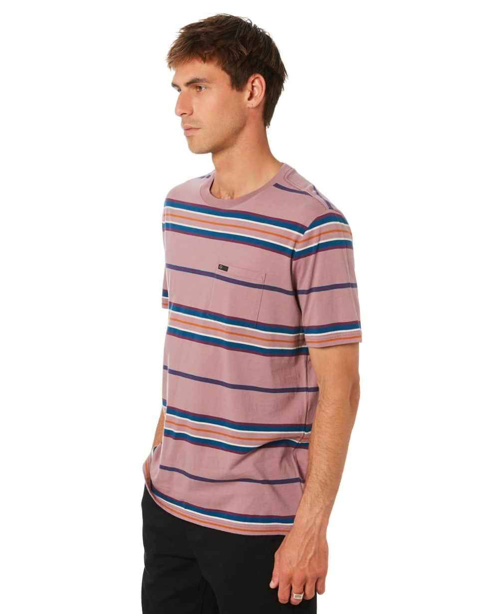 BRIXTON HILT S/S POCKET KNIT - WASHED CONCORD | T-Shirt by Brixton 3