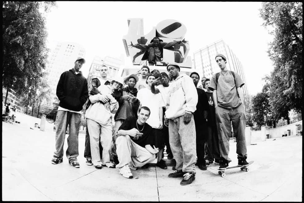 Love Park Crew, 1999   Photograph by Mike Blabac 2