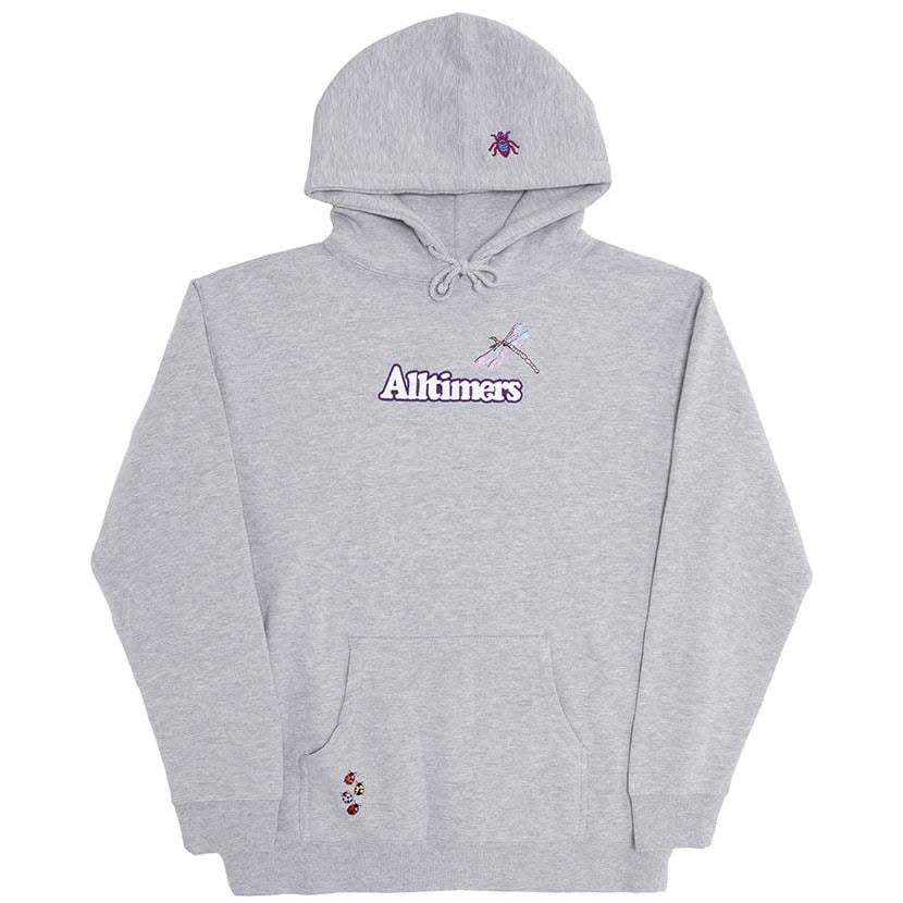 Alltimers Bugged Out Broadway Hoodie - Heather Grey | Hoodie by Alltimers 1