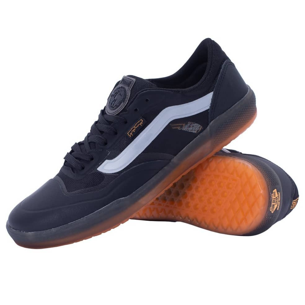 Vans x Fucking Awesome AVE Pro Skate Shoes - Black / Orange   Shoes by Vans 3