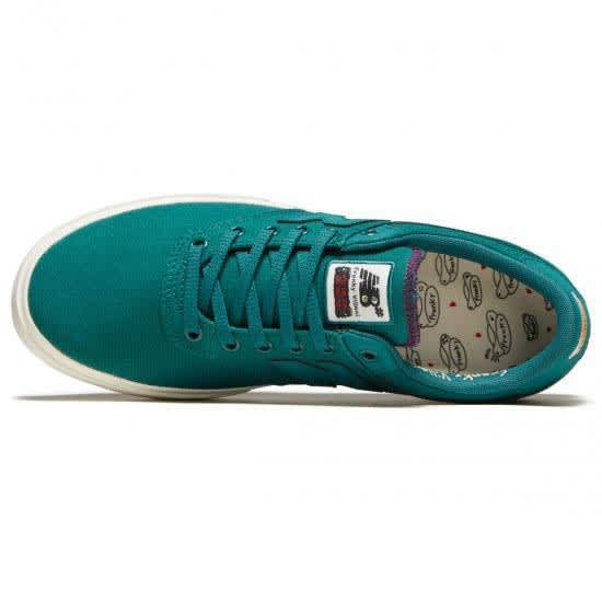 New Balance Numeric Franky Villani 255 Shoes - Green / White | Shoes by New Balance 3