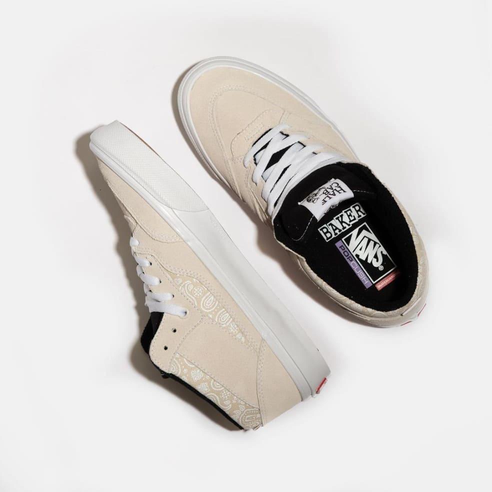 Vans x Baker Skate Half Cab '92 Shoes - White / Bandana | Shoes by Vans 2