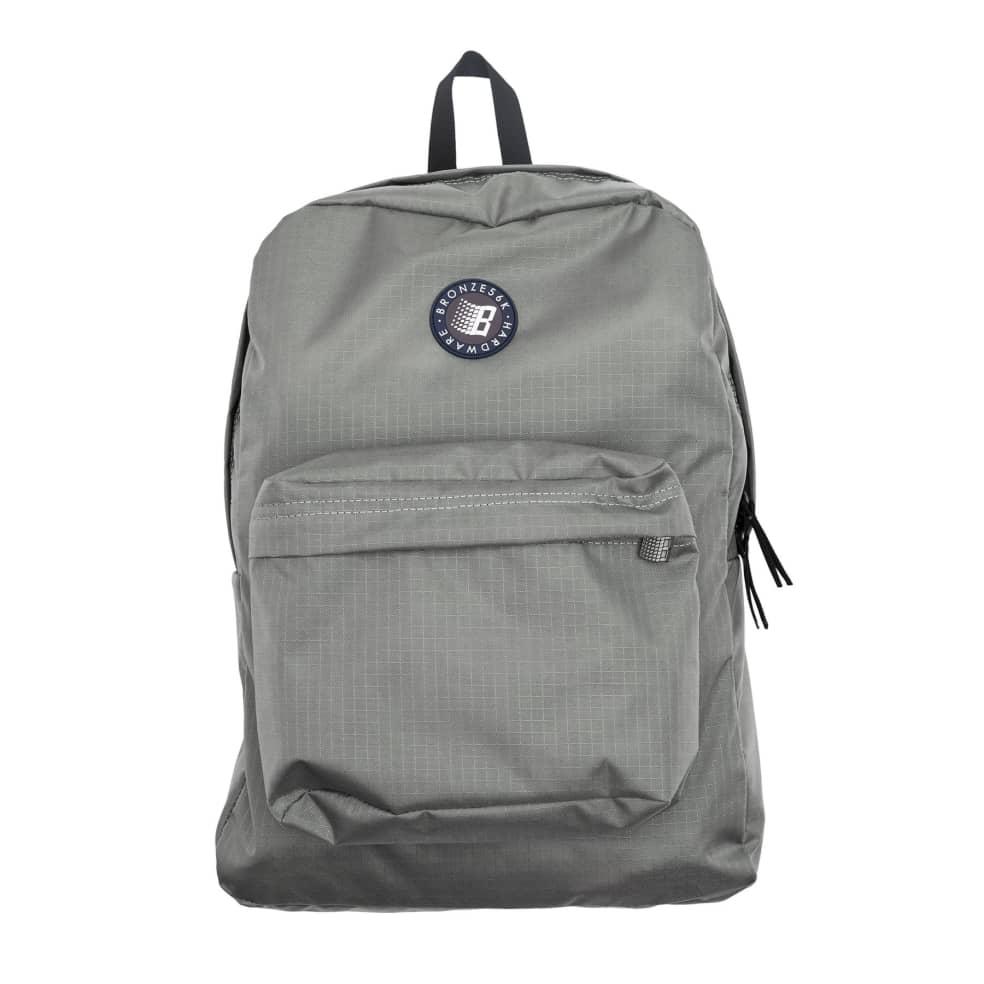Bronze 56k Ripstop Backpack - Grey   Backpack by Bronze 56k 1