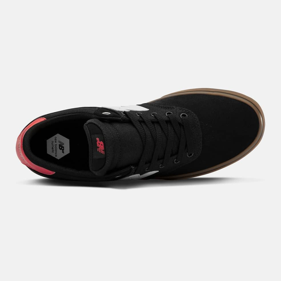 New Balance Numeric 255 Shoes - Black / White | Shoes by New Balance 2