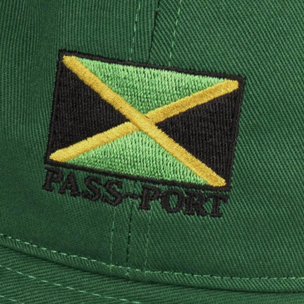 Pass~Port Jamaica Twill Bucket Hat - Green   Bucket Hat by Pass~Port Skateboards 2