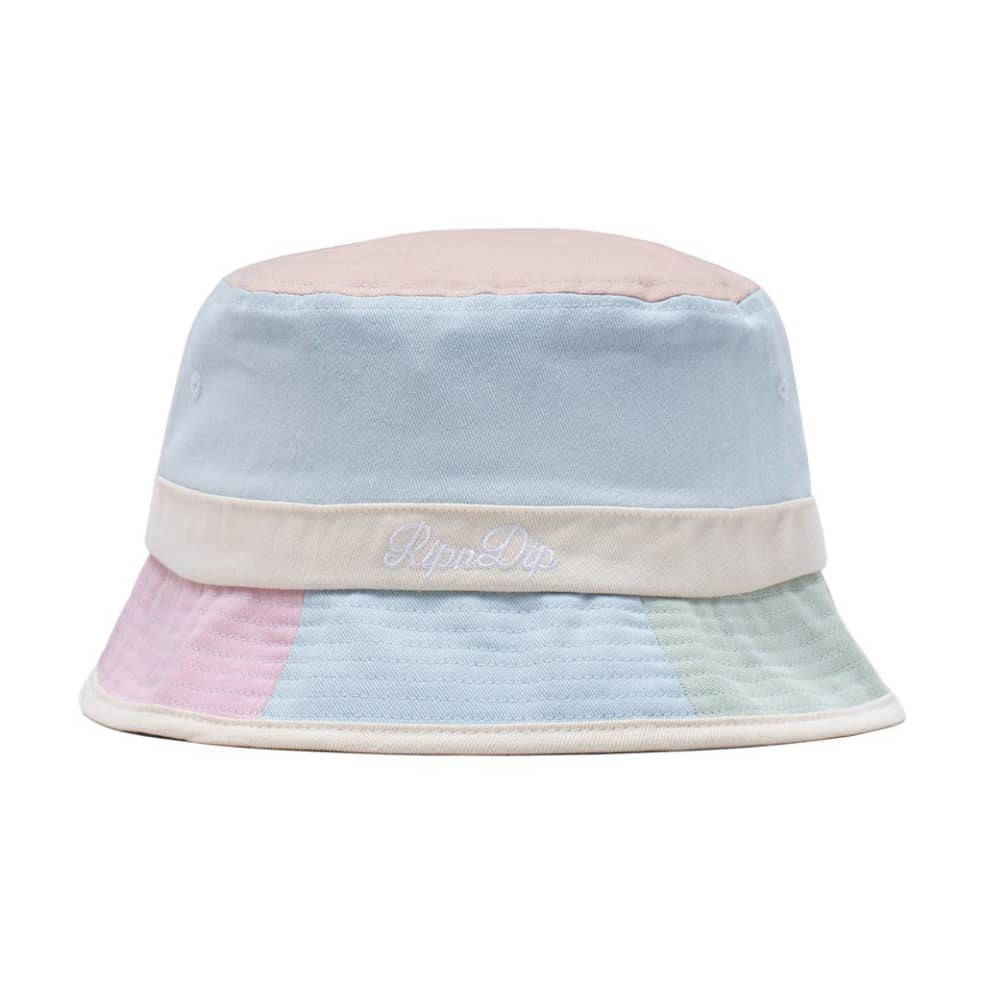 Rip N Dip Mid City Cotton Embroidered Bucket Hat - Multi | Bucket Hat by Ripndip 1