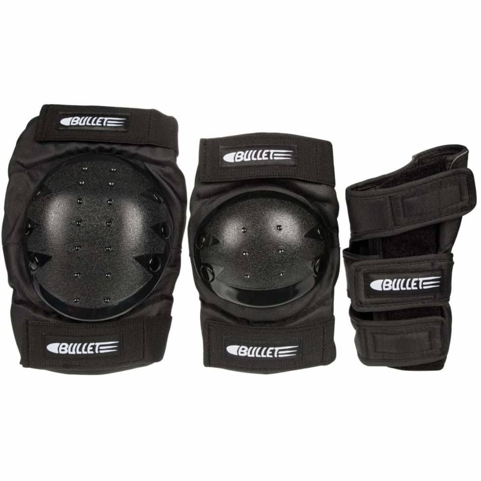 Bullet Combo Deluxe Pad Set | Junior | Pads by Bullet Skateboards 1