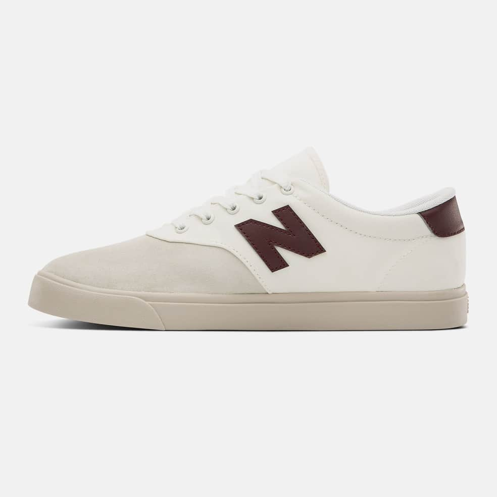 New Balance All Coasts AW55 Shoes - Grey / Burgundy   Shoes by New Balance 3