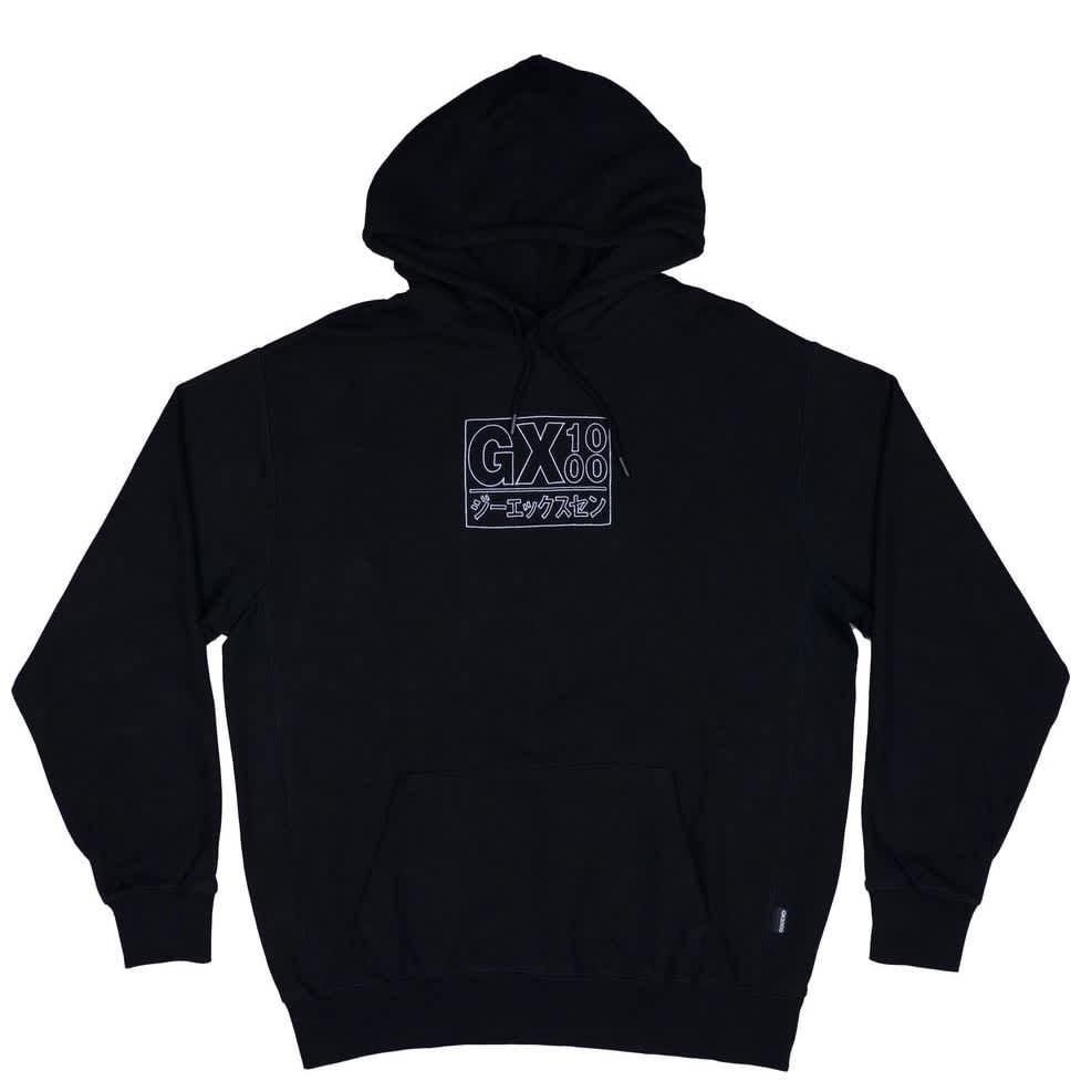 GX1000 Japan Hoodie - Black   Hoodie by GX1000 1