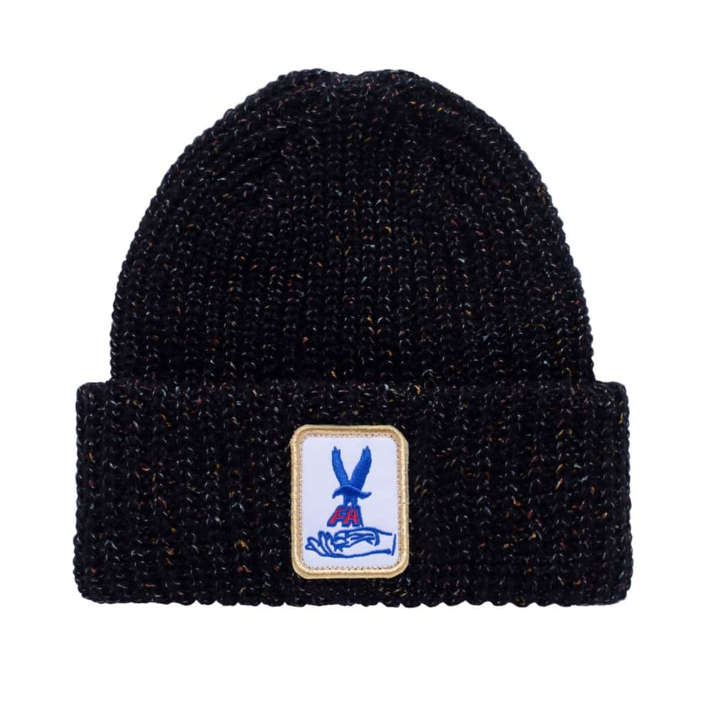 Fucking Awesome Beanie Hawk Speckle Black | Beanie by Fucking Awesome 1