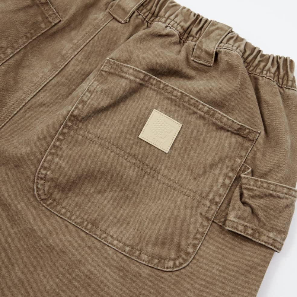 Bronze 56k Karpenter Shorts - Washed Stone | Shorts by Bronze 56k 3