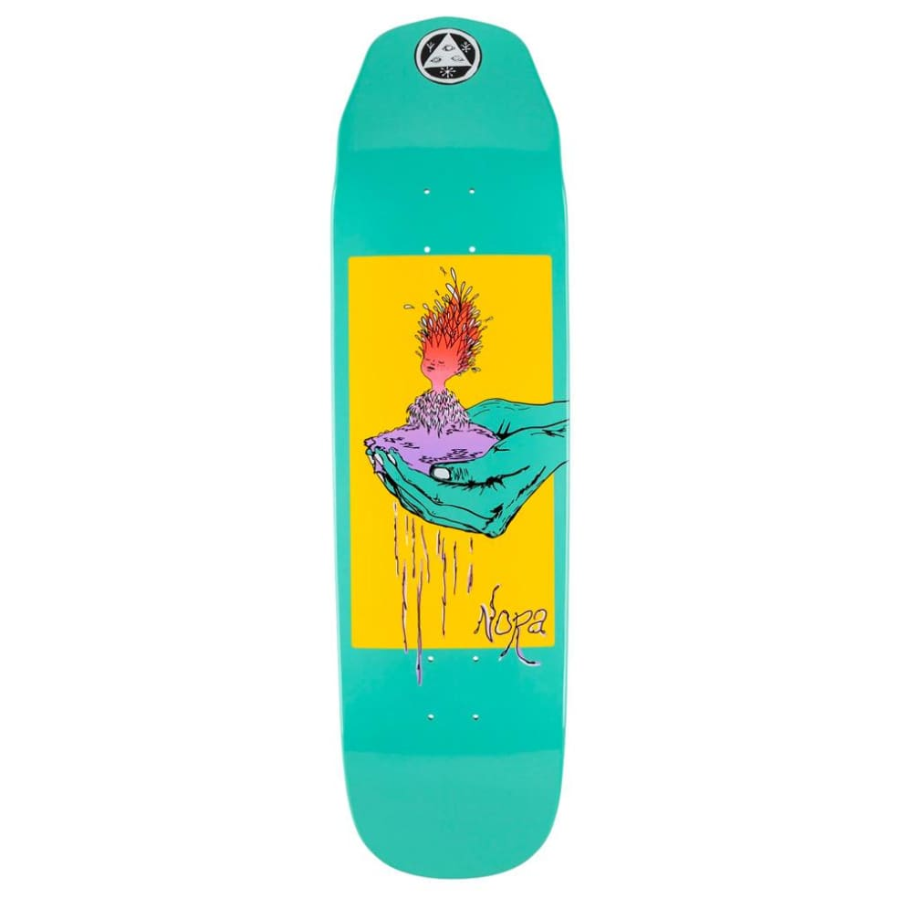 """Welcome Skateboards - Nora Vasconcellos Soil On Wicked Princess Deck 8.6"""" Wide   Deck by Welcome Skateboards 1"""