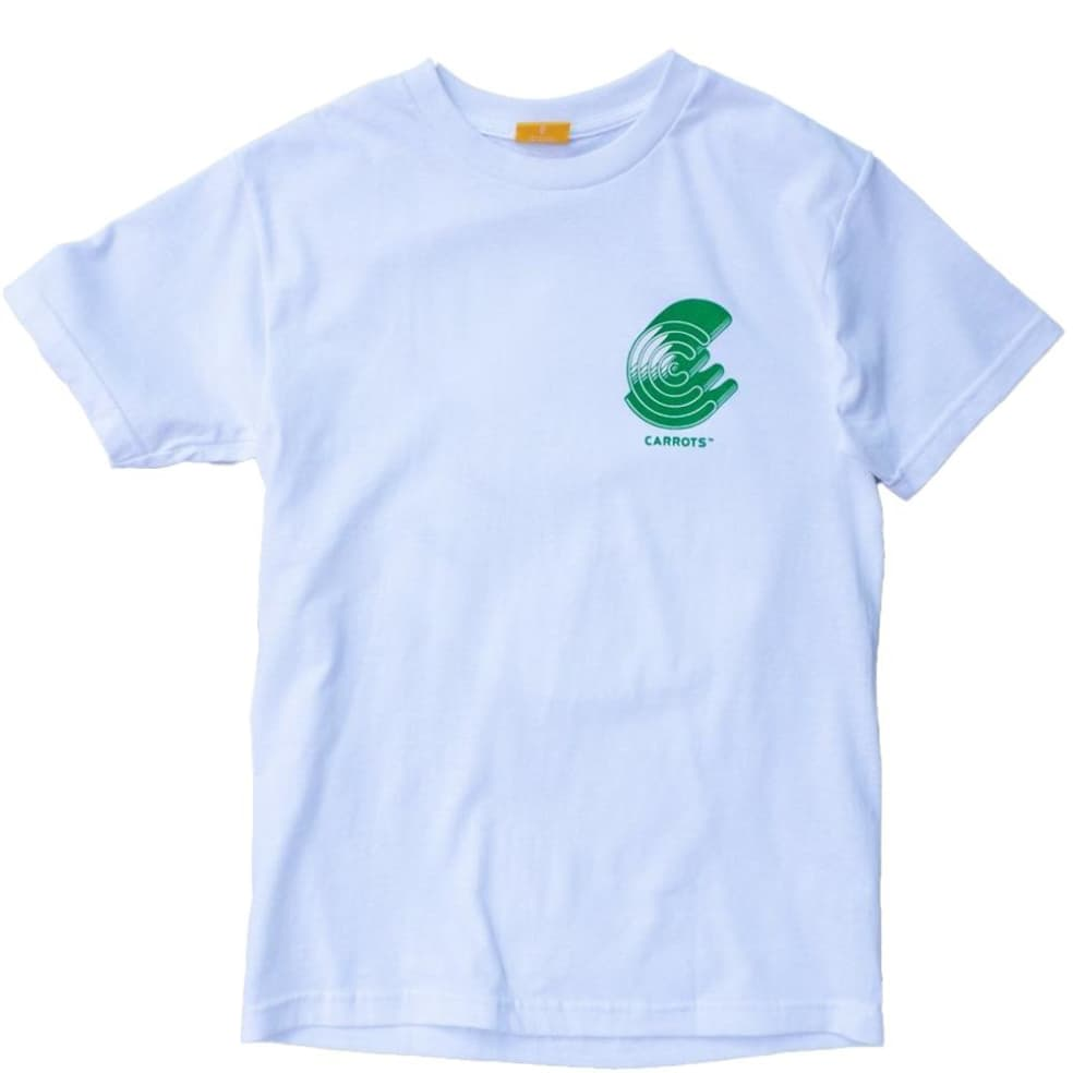 Carrots Records T-Shirt - White | T-Shirt by Carrots by Anwar 1