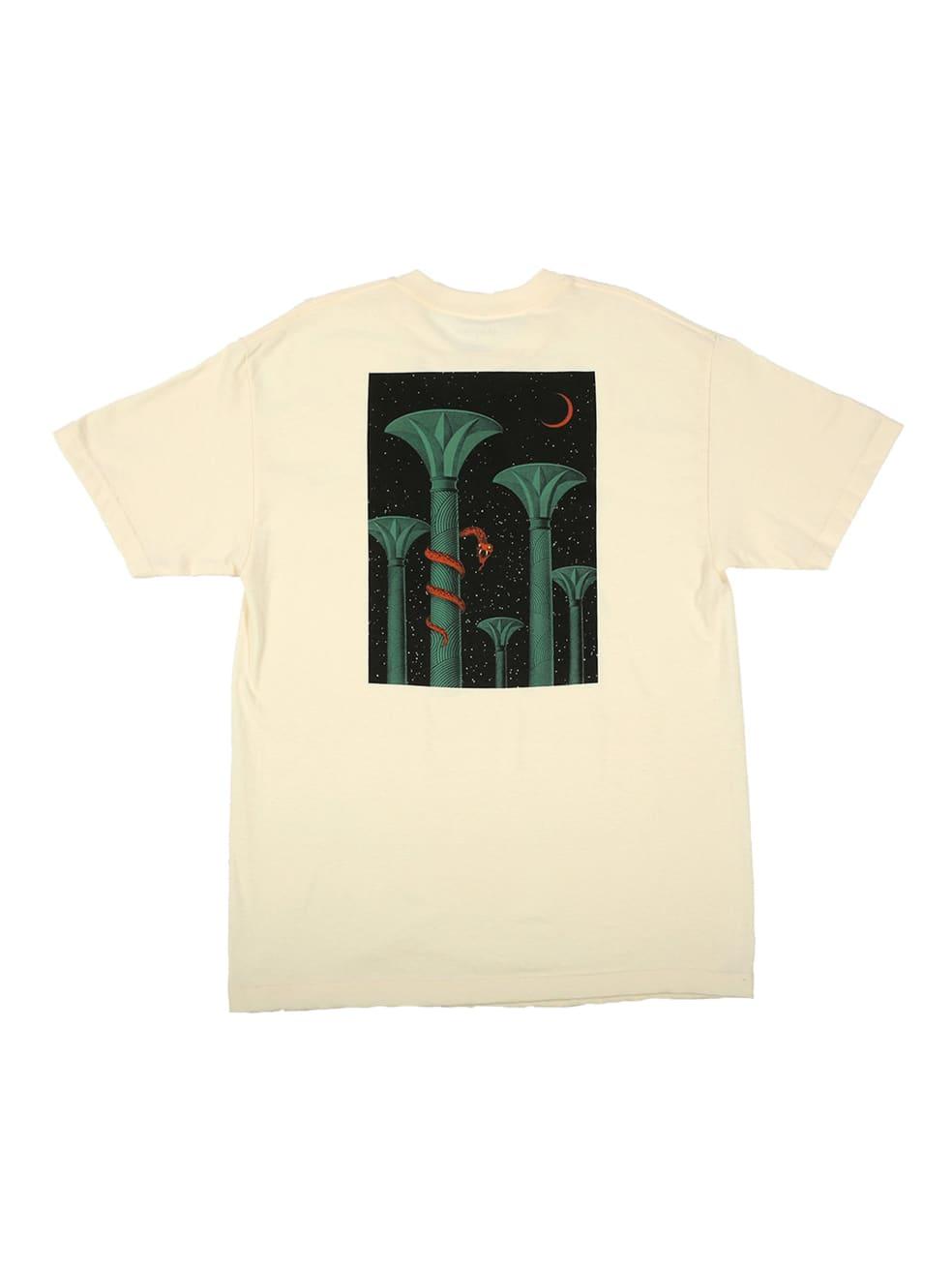 "PICTURE SHOW-""SERPANT T-SHIRT""(CREAM)   T-Shirt by Picture Show Studios 1"